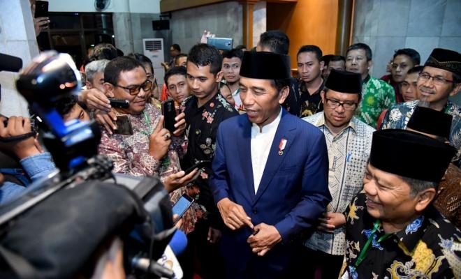 Presiden Jokowi Silaturahmi Keluarga Besar Persis