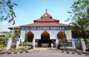 wisata sidoarjo masjid agung sidoarjo