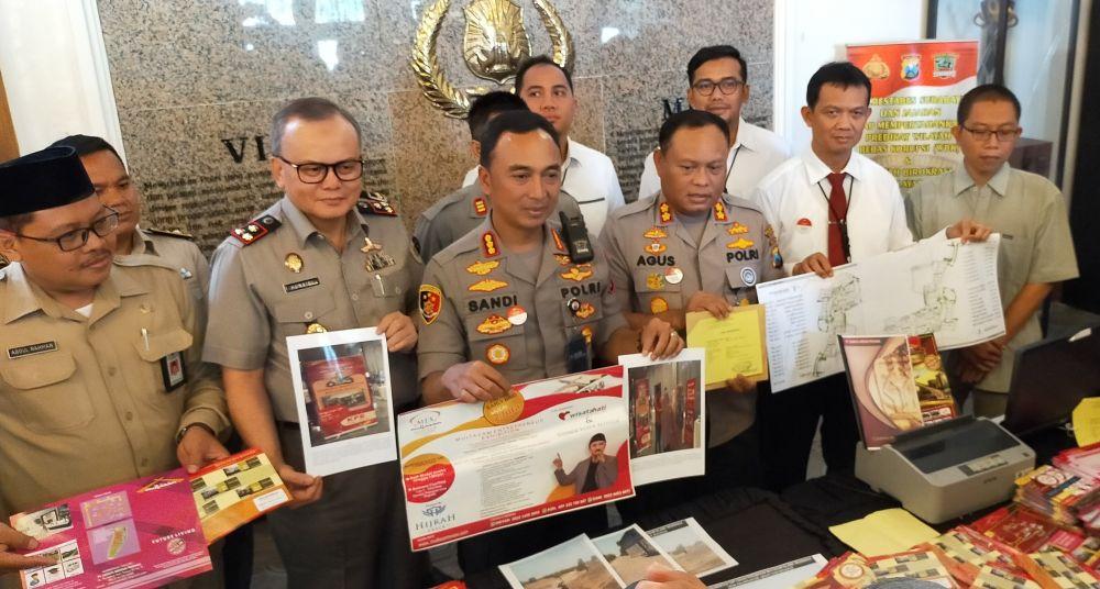 Polrestabes Surabaya Bongkar Perumahan Fiktif Berlabel Syariah