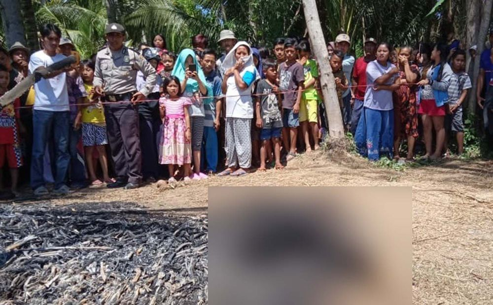 Geger Penemuan Mayat Terbakar di Banyuwangi