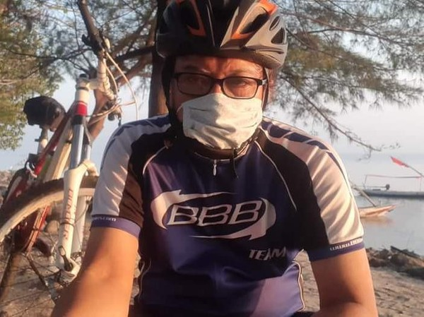 Profesor ITS Dibegal Saat Gowes di Kenjeran Surabaya