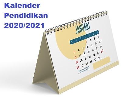 Update Kalender Pendidikan 2020 dan 2021