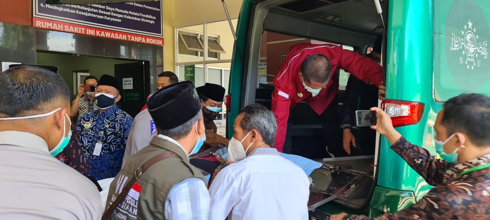 KH Miftakhul Akhyar, Rois Aam PBNU Kecelakaan di Salatiga: Alhamdulillah Selamat